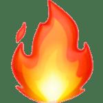 emoji-flamme