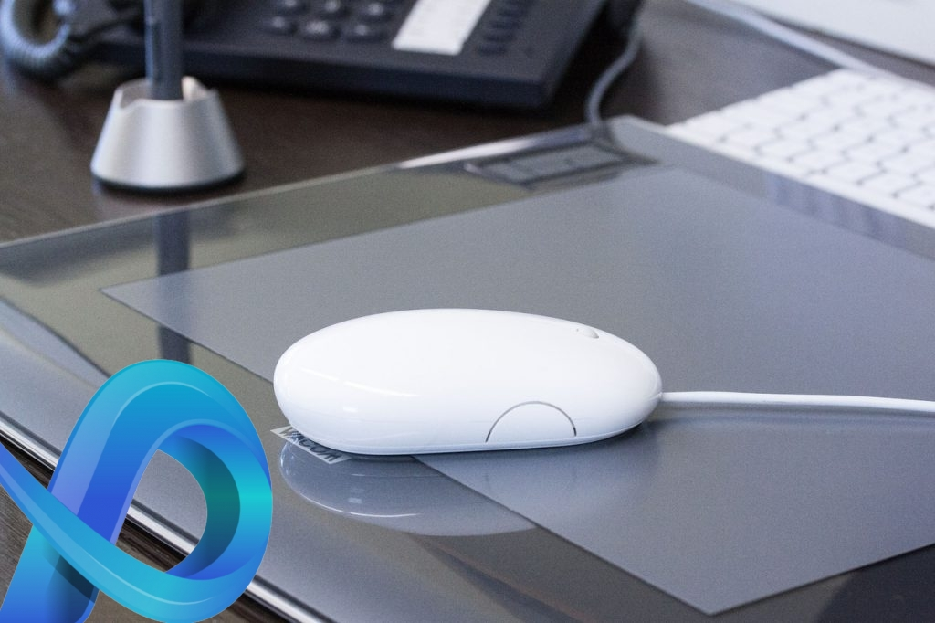 Une tablette qui remplace la souris d'un PC