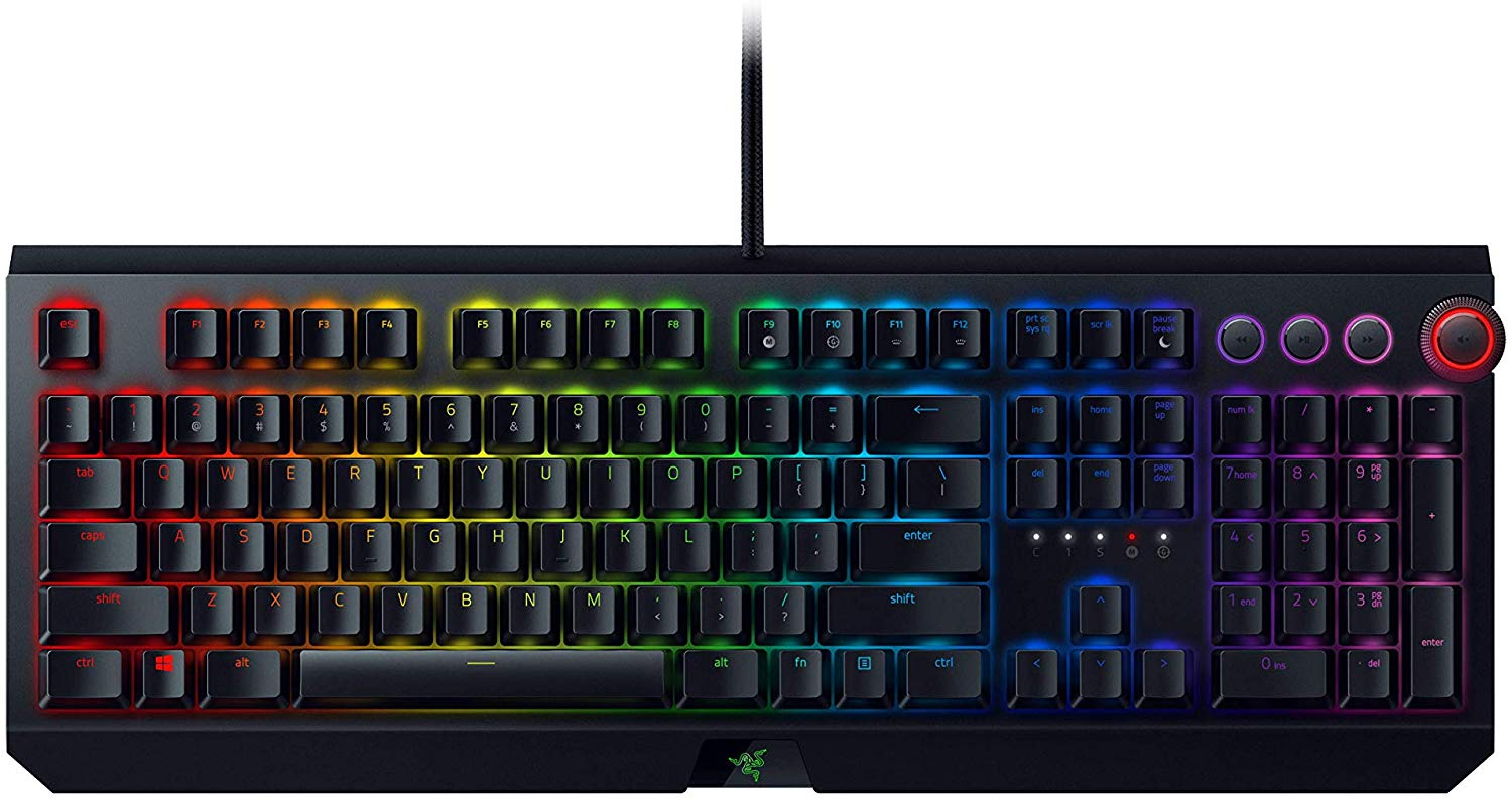 Clavier gamer Razer Blackwidow Elite : notre test, notre avis