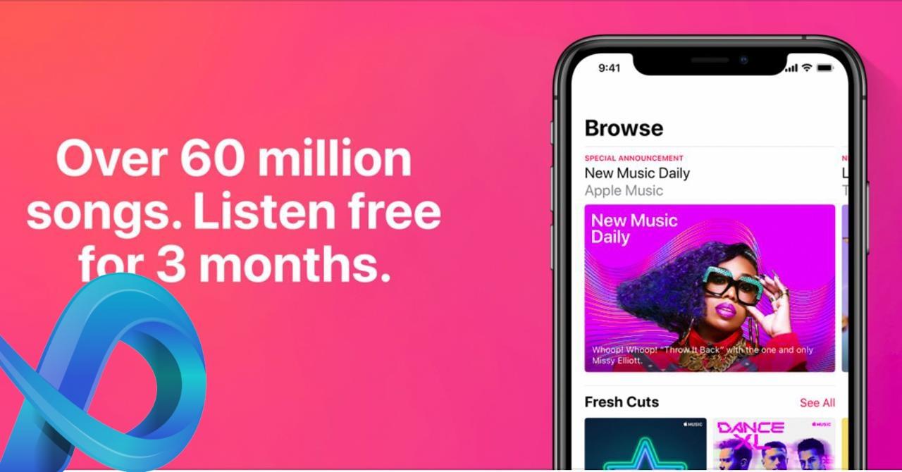L'application de musique gratuite Apple Music