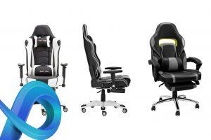 Où acheter une chaise gaming avec un repose-pied ?