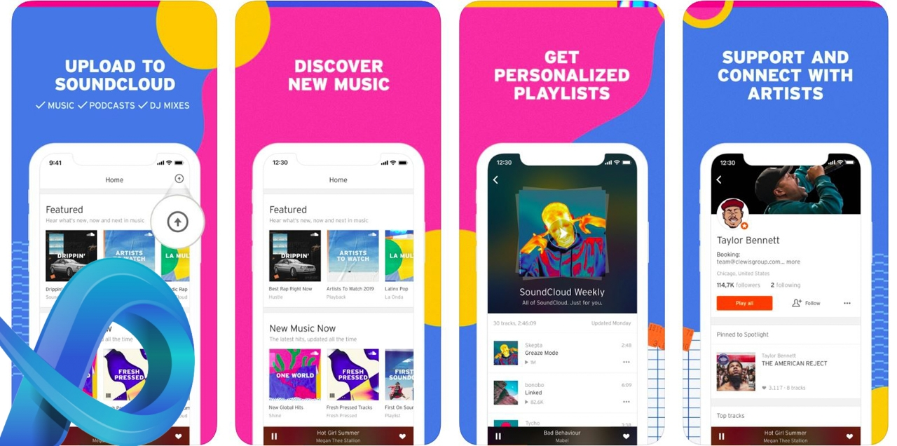 Top des applications musicales 2020
