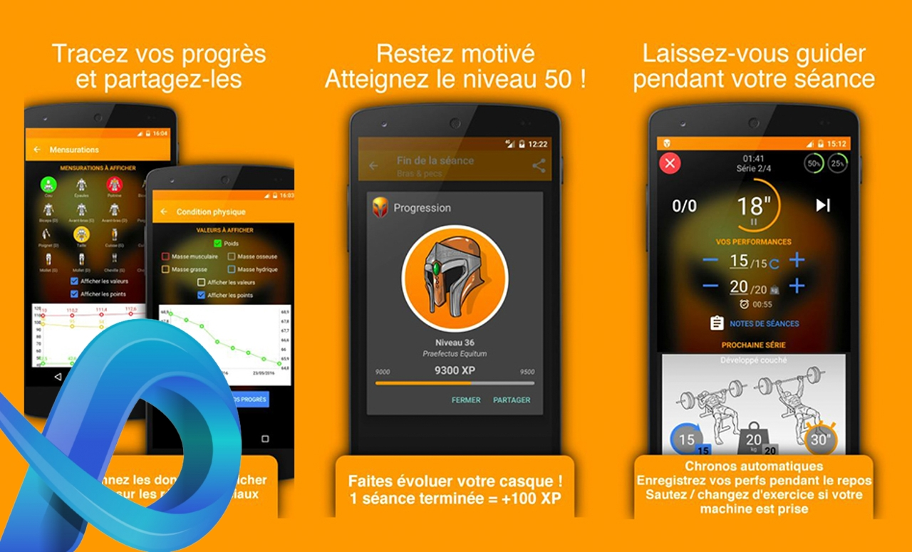 Top 5 des applications sport