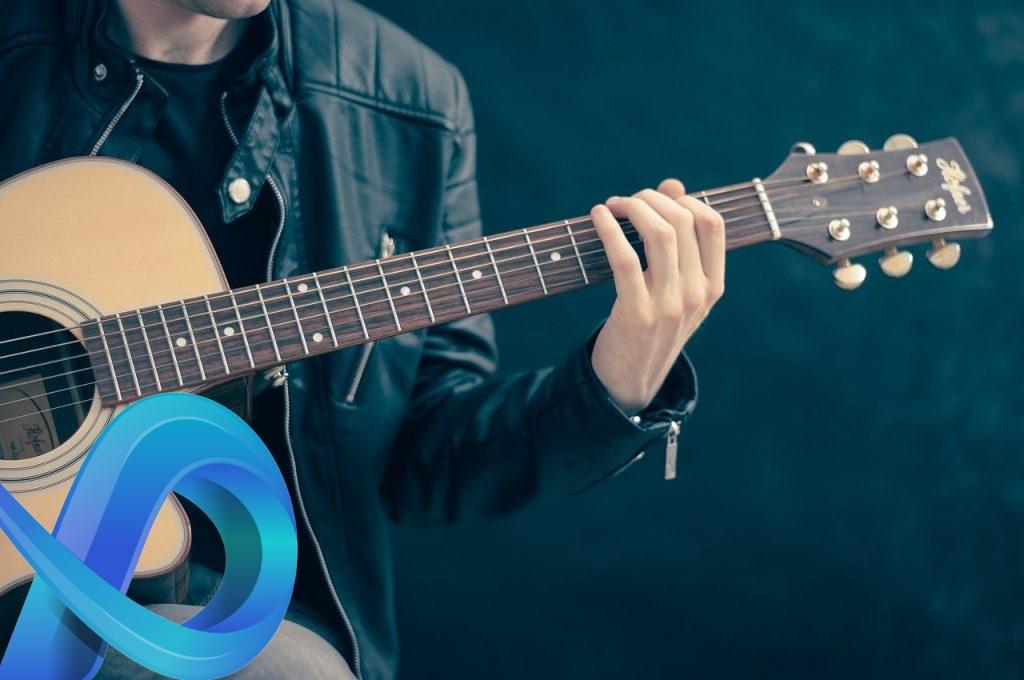 jouer de la guitare
